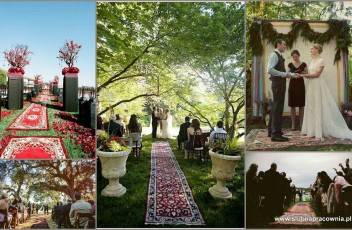 dywan perski ślub