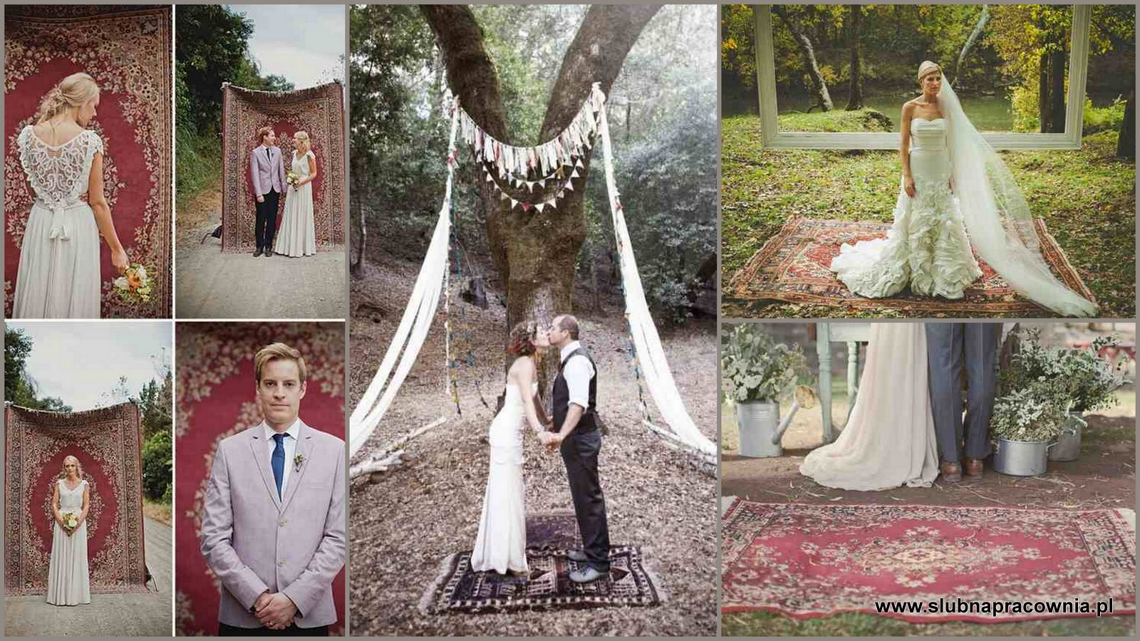 dywany ssja ślubna