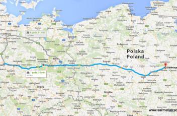 trasa Warszawa Hannover