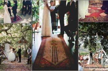 wynajem dywany do ślubu