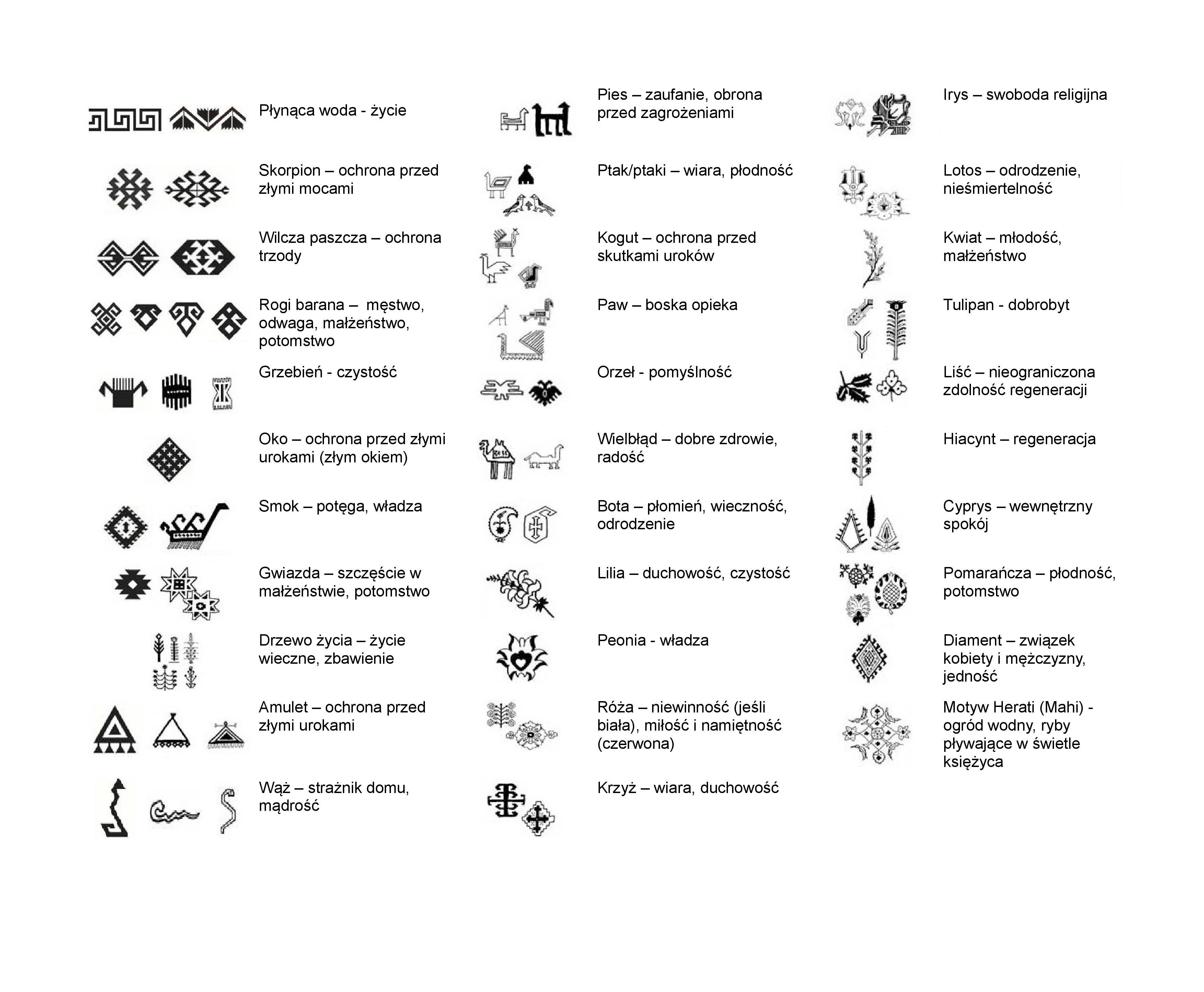 Symbole-na-dywanach