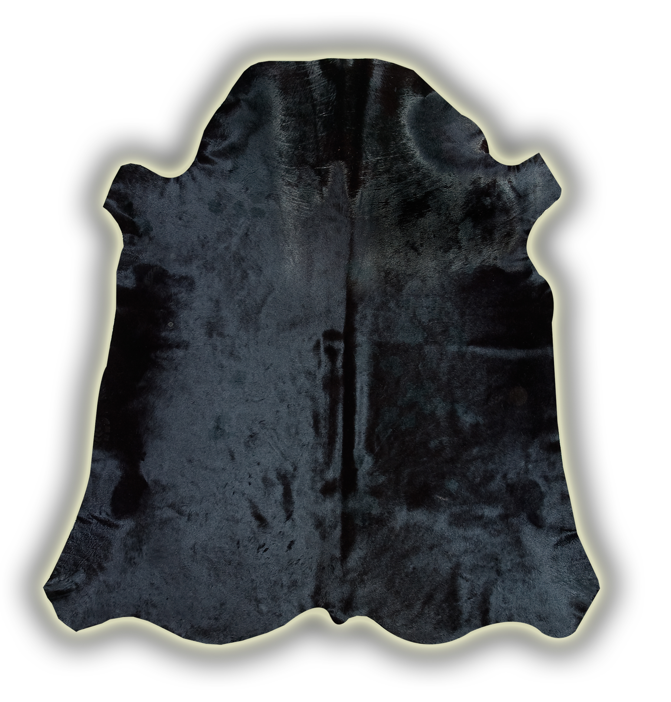 Skóra krowia w kolorze czarnym
