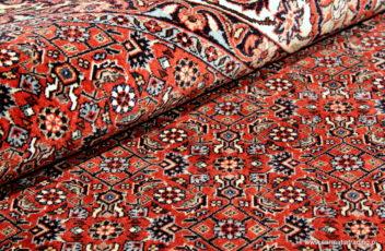 Dywan wełniany, ręcznie tkany Bidjar. Iran. 204x210cm