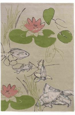 Lily pond silver P1