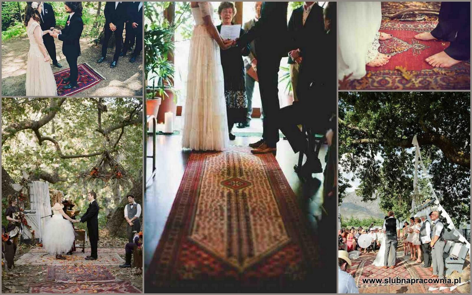 dywany do ślubu