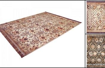dywan vintage jedwab wełna