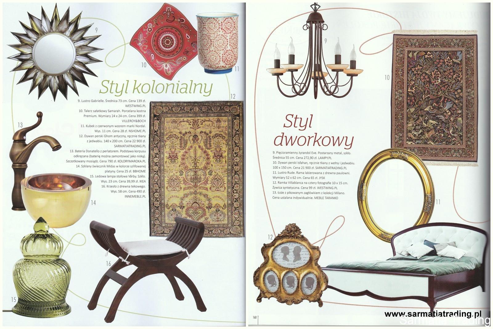 dywany styl dworkowy_kolonialny