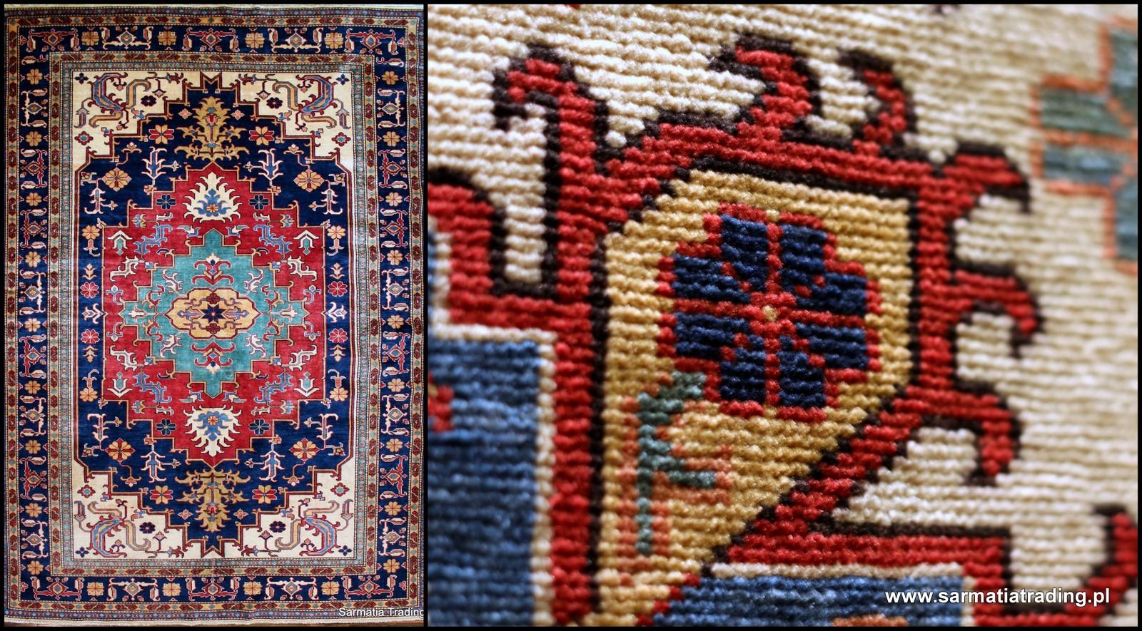 Kazak dywan wełniany