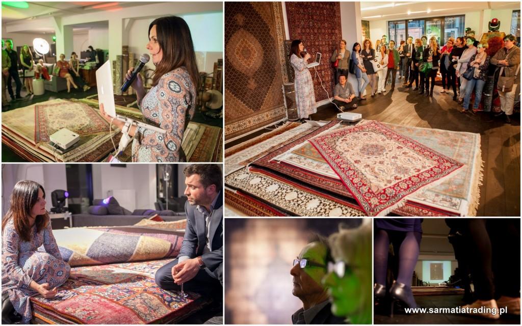 wykład o dywanach