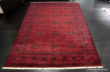 Khan Mohammadi, Pakistan-Afganistan, wełna na bawełnie, 250x350cm (1)