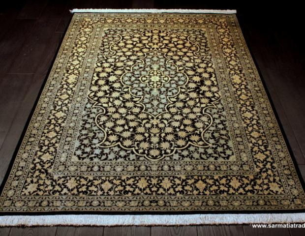 dywan ręcznie tkany, dywan jedwabny, dywan lukusowy