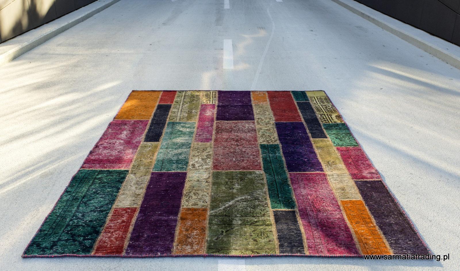 Salon Z Dywanami Oferta Nowoczesne Dywany Patchwork Art